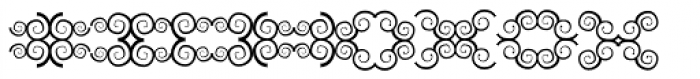 Anns Butterfly Nine Font LOWERCASE
