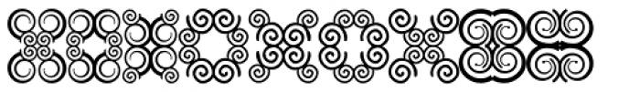 Anns Butterfly Ten Font UPPERCASE