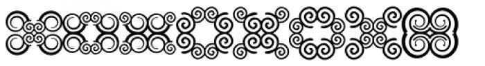 Anns Butterfly Ten Font LOWERCASE
