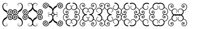 Anns Butterfly Three Font UPPERCASE