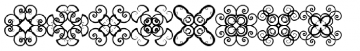 Anns Crosses One Font UPPERCASE