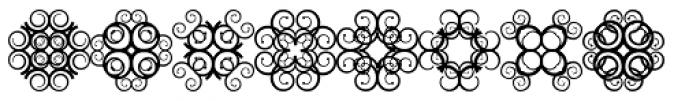 Anns Crosses Ten Font UPPERCASE