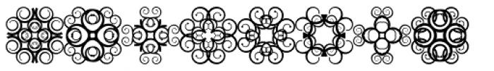 Anns Crosses Ten Font LOWERCASE