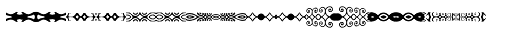 Anns Decorative Bands Horizontal Font OTHER CHARS