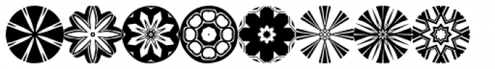 Anns Florascopes Two Font LOWERCASE