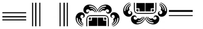 Anns Frame Five Font UPPERCASE