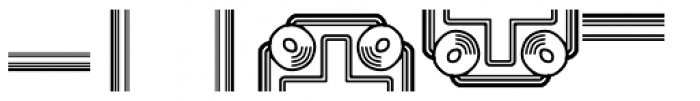 Anns Frame Four Font LOWERCASE