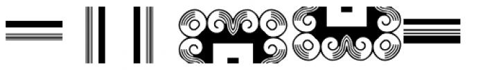 Anns Frame One Font UPPERCASE
