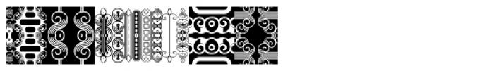 Anns FriezeFrame One Font UPPERCASE