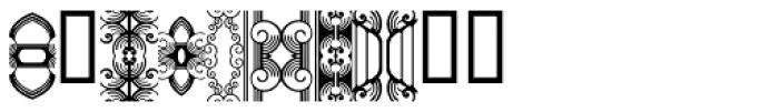 Anns FriezeFrame Three Font OTHER CHARS