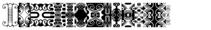 Anns FriezeFrame Three Font UPPERCASE