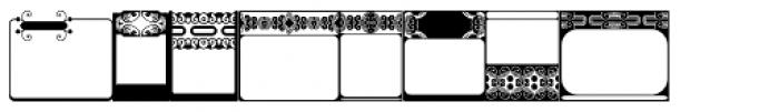 Anns FriezeFrame Three Font LOWERCASE
