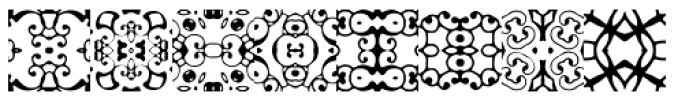 Anns Gothblocks Patchquirks Font LOWERCASE