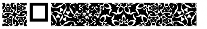 Anns Gothblocks Pinaforms Font OTHER CHARS