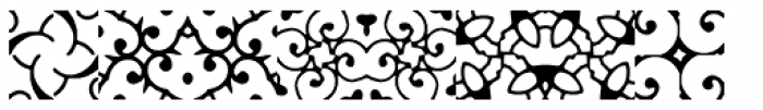 Anns Gothblocks Spinafores Font OTHER CHARS