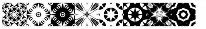 Anns Kaleidoblocks Five Font UPPERCASE