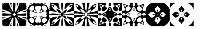 Anns Kaleidoblocks One Font OTHER CHARS