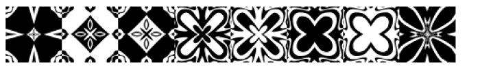 Anns Kaleidoblocks One Font UPPERCASE