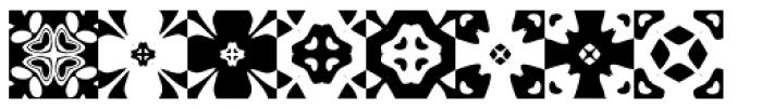 Anns Kaleidoblocks One Font LOWERCASE