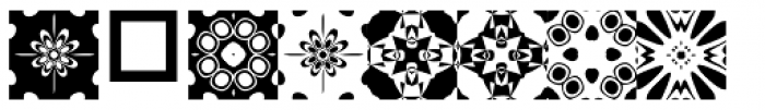 Anns Kaleidoblocks Three Font OTHER CHARS