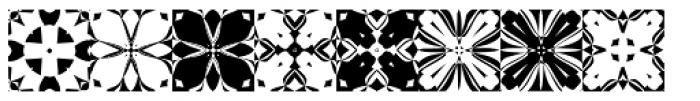 Anns Kaleidoblocks Three Font LOWERCASE