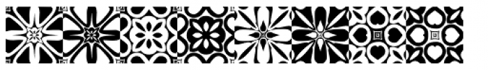 Anns Kaleidoblocks Two Font UPPERCASE