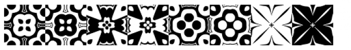 Anns Kaleidoblocks Two Font LOWERCASE