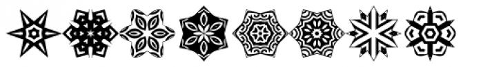 Anns Stellars One Font UPPERCASE