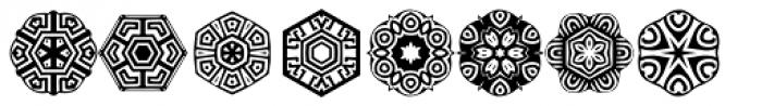 Anns Stellars Three Font UPPERCASE