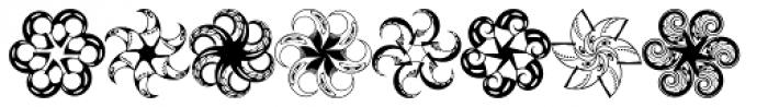 Anns Whirligig Five Font UPPERCASE