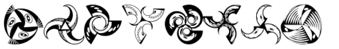Anns Whirligig Three Font OTHER CHARS