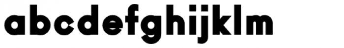 Ano Black Regular Font LOWERCASE