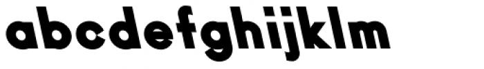 Ano Black UpperLower Back Italic Font LOWERCASE