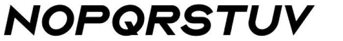 Ano Black Wide Italic Font UPPERCASE