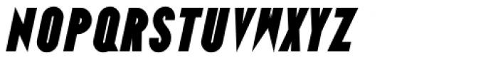 Ano Black Wide Italic Font LOWERCASE