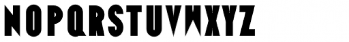 Ano Black Wide Font LOWERCASE