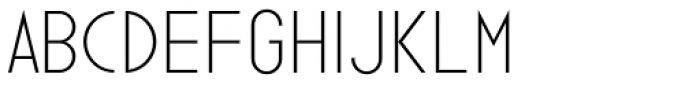 Ano Half Wide Font LOWERCASE