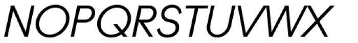 Ano Italic Font UPPERCASE