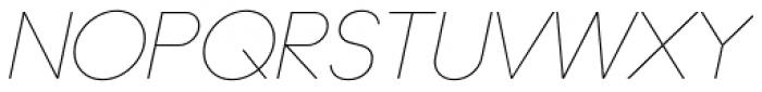 Ano Quarter Italic Font UPPERCASE