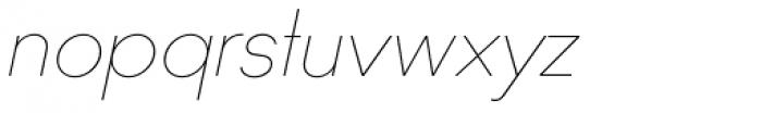 Ano Quarter Italic Font LOWERCASE
