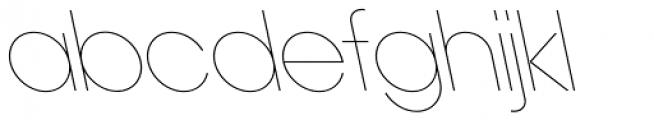 Ano Quarter UpperLower Back Italic Font UPPERCASE