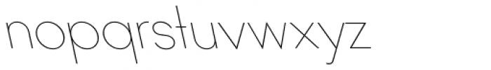 Ano Quarter UpperLower Back Italic Font LOWERCASE