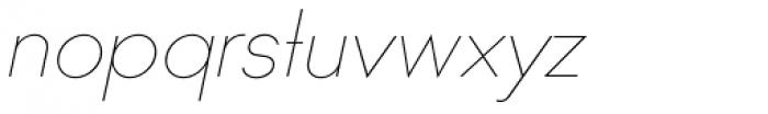 Ano Quarter UpperLower Italic Font LOWERCASE
