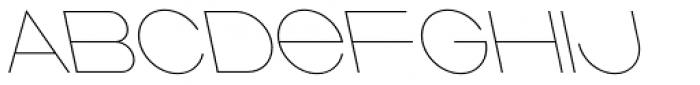 Ano Quarter Wide Back Italic Font UPPERCASE