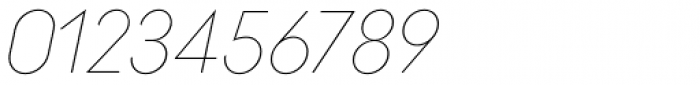 Ano Quarter Wide Italic Font OTHER CHARS