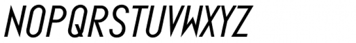 Ano Wide Italic Font LOWERCASE