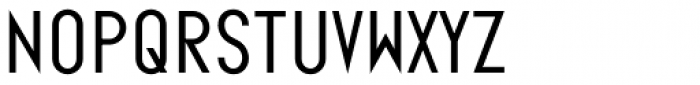 Ano Wide Font LOWERCASE