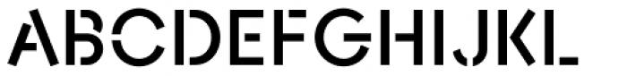AnoStencil Bold Font UPPERCASE
