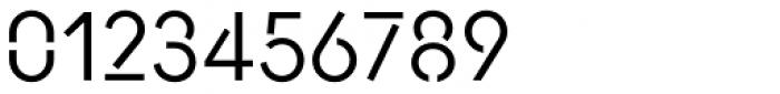 AnoStencil Regular Font OTHER CHARS