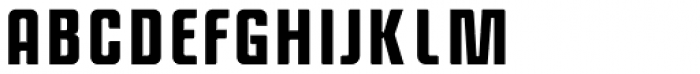 Anorak Condensed Bold Font UPPERCASE